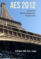 Cover for Proceedings of AES 2012, the 1st Advanced Electromagnetics Symposium