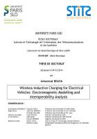 Cover for Wireless Inductive Charging of Electrical Vehicles: Electromagnetic Modelling and Interoperability Analysis