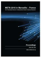 Cover for Proceedings of META'18, The 9th International Conference on Metamaterials, Photonic Crystals and Plasmonics