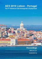 Cover for Proceedings of AES 2019, the 7th Advanced Electromagnetics Symposium