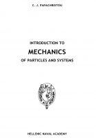 Cover for Introduction to Mechanics of Particles and Systems